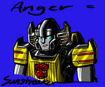 Sunstreaker is Angry