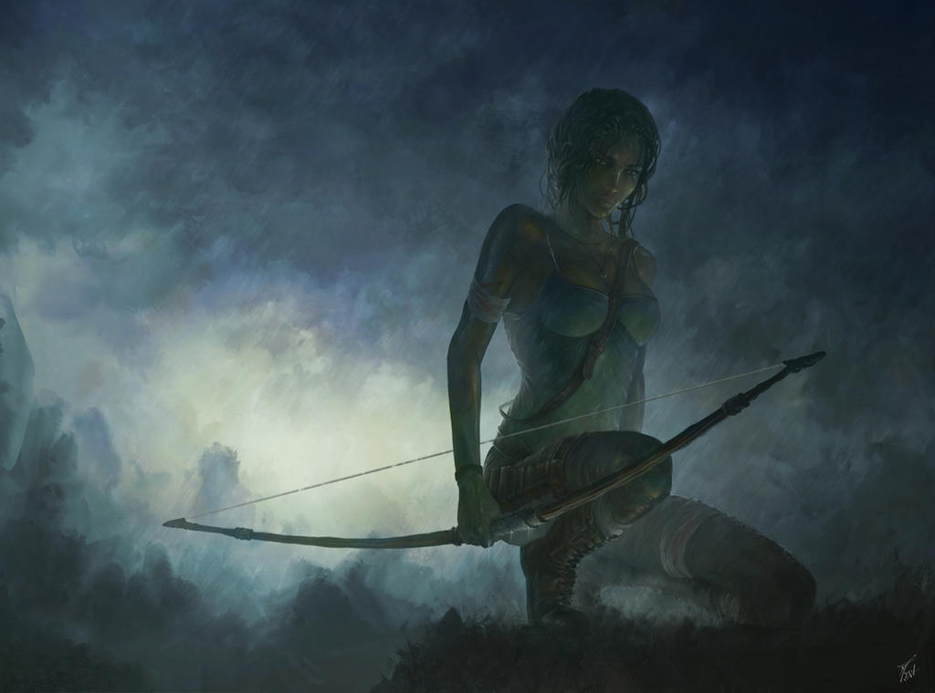 Contest Tomb Raider reborn by CyrilBarreaux