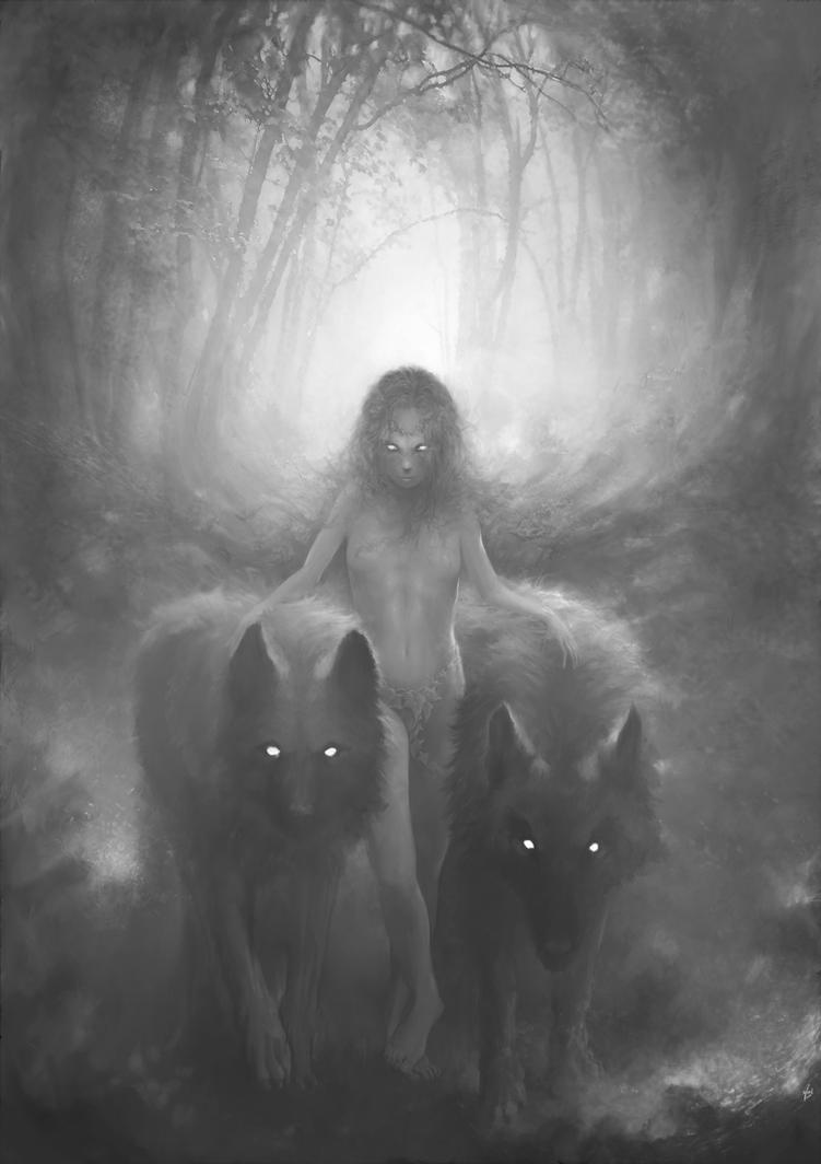 Le temps des loups - time wolves by CyrilBarreaux