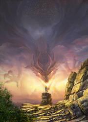poster illustration for the Legends Edge Festival