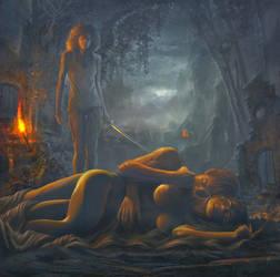 Illustration pour pochette cd  choose your death 2