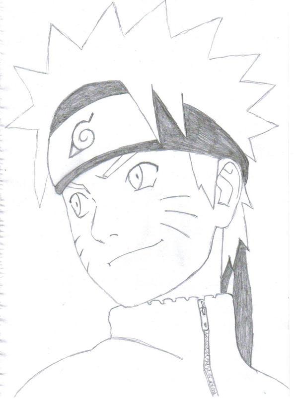 Naruto-Shippuden by Sasram on DeviantArt  Naruto Drawings In Pencil Easy