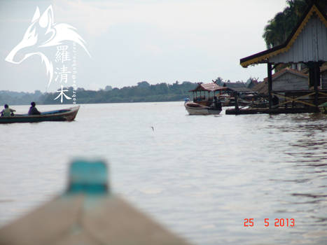 Batang Hari Jambi - River Side