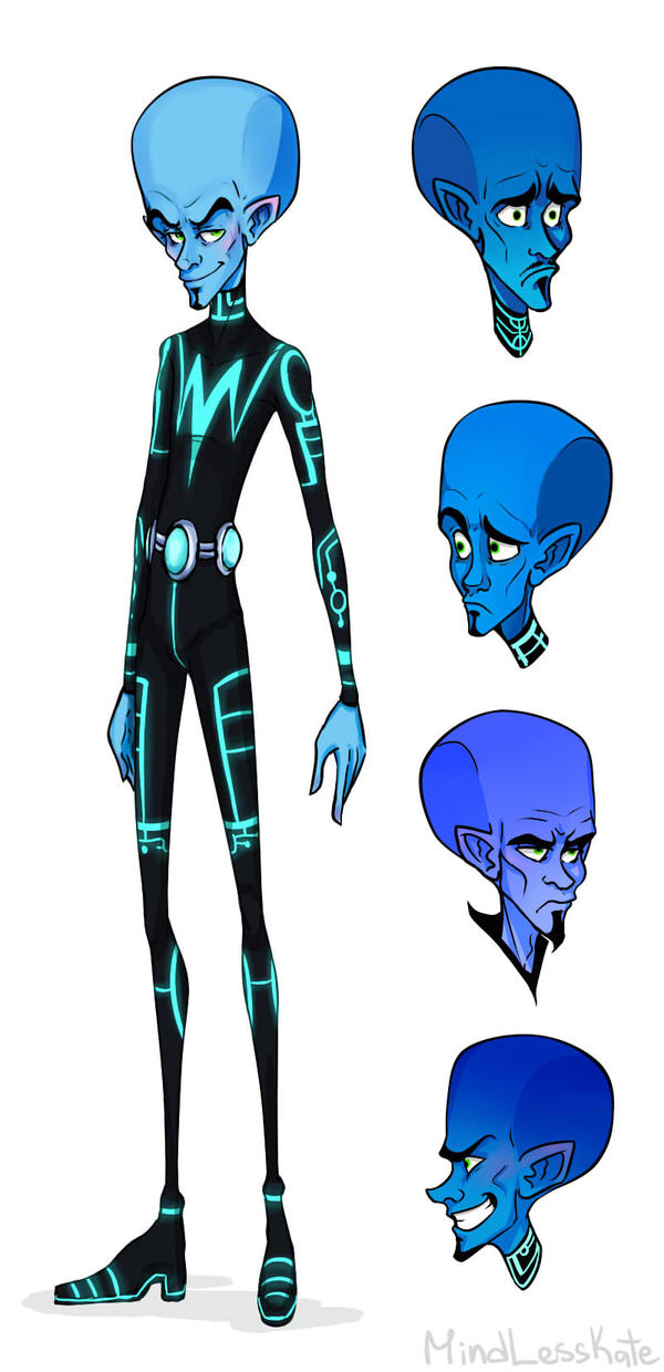 Fan art Anthony Siruno concept art for Megamind by MindlessKate