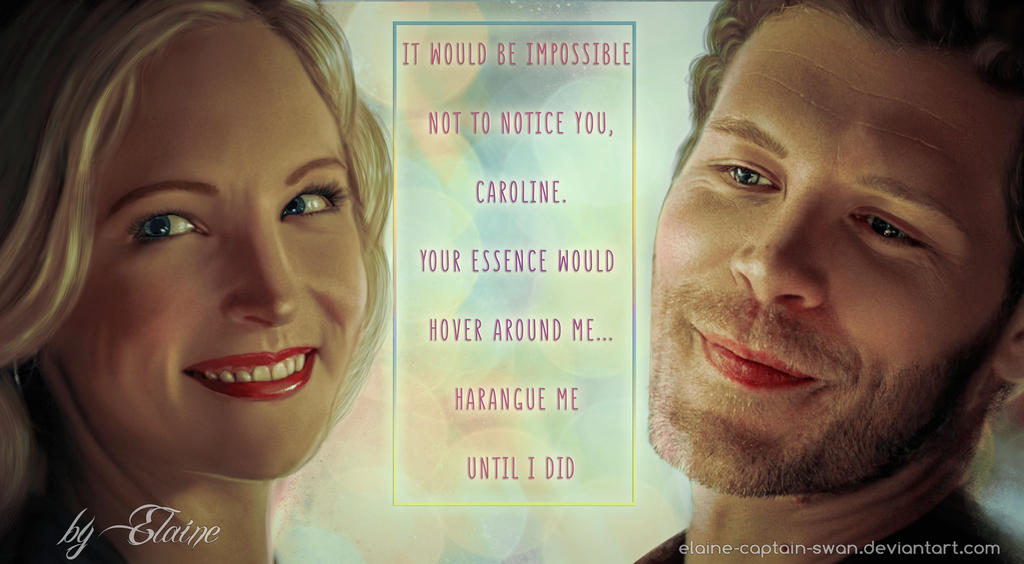 Klaroline by Elaine-captain-swan