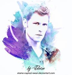 Klaus Mikaelson by Elaine-captain-swan