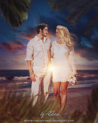 Honeymoon by Elaine-captain-swan