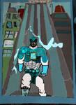 Twister Superhero Digital Comic Character by koustavmalick