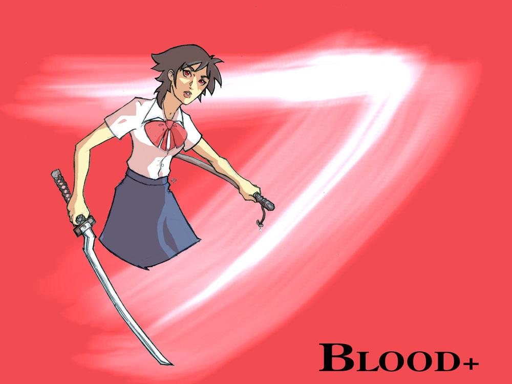 Blood+: Saya by jdcunard
