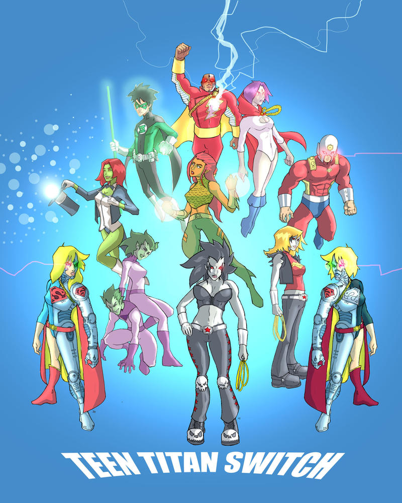 Teen Titans Switched