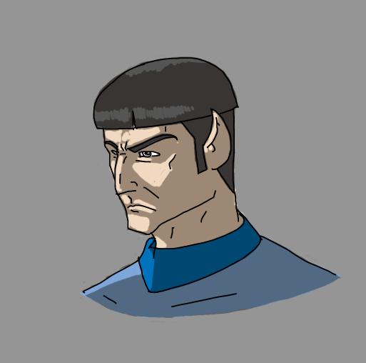 Spock by jdcunard