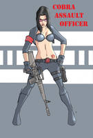 Baroness:Cobra Assault Officer by jdcunard