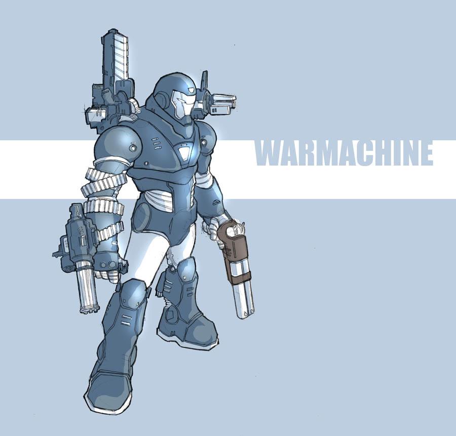 WarMachine by jdcunard
