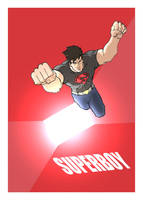 SuperBoy by jdcunard