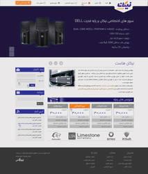 Nikan Host Website UI by oreallove
