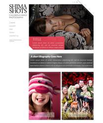 Shima Shots website by oreallove