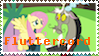 Fluttercord Stamp by Roseyicywolf