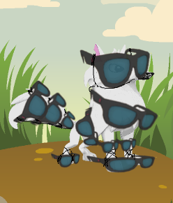 Sunglass armor by Roseyicywolf