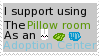 I Support Using The Pillow Room as an Adoption Cen by Roseyicywolf