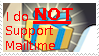 I do NOT support MailTime by Roseyicywolf