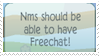NM Freechat by Roseyicywolf