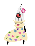 Turrets in dresses are a gift to this world by Roseyicywolf