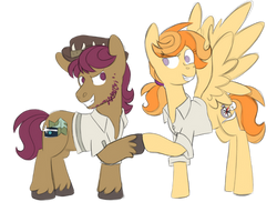 Scootaloo's mom redesign (ft. snap shutter)