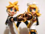 Vocaloid Figma - Len and Rin