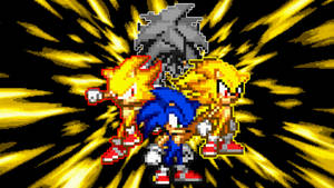 Sonic The Hedgehog Wallpaper by Sonic06Bruh