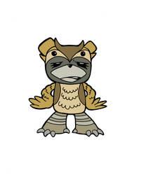 GlamBear: LowBrow Owl Edition by hollisdorian