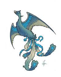 Phoenix Tattoo in Color by hollisdorian