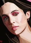 Eliza Dushku Graphic