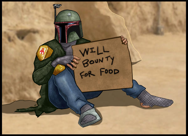 Hobo Fett by HeroforPain