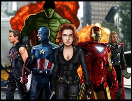 Avengers by HeroforPain