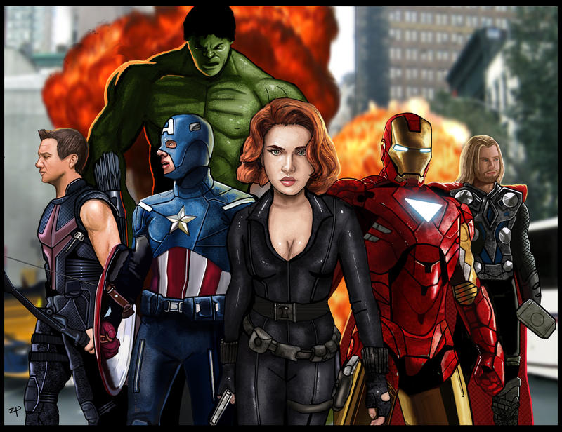Avengers by BalthaZarDragon