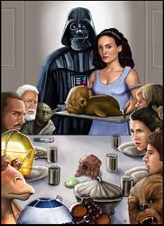 Star Wars  Norman Rockwell