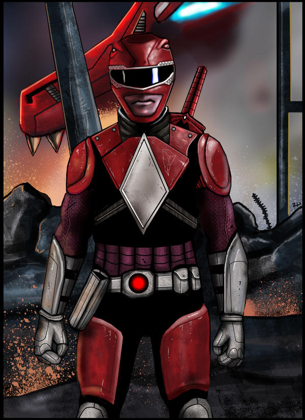 Red Ranger Redux by HeroforPain