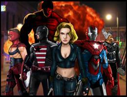 Avengers Variant by HeroforPain