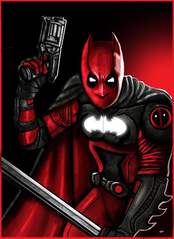 Daredevil Vs Deathstroke Batpool 3.0 by Herofor...