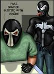 Bane and Venom by HeroforPain