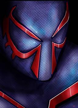 Spider-man 2099 by HeroforPain