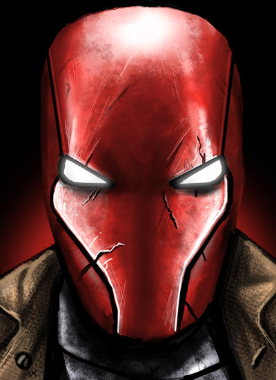 Red hood by HeroforPain