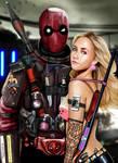 Deadpool x Claire Bennet