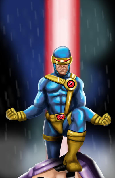 Cyclops - X-men by HeroforPain