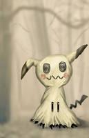 Pokemon Mimikkyu by HeroforPain