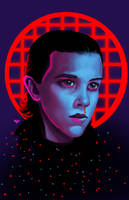 Stranger Things - Eleven by HeroforPain