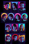 Strangers Things - The Set