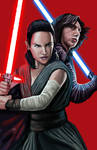 Throne room - Rey and Kylo