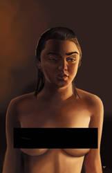 Arya Stark Censored by HeroforPain