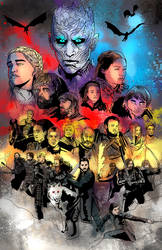 Battle of Winterfell - Color by HeroforPain